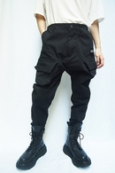 【予約】JULIUS 20PS CARGO TRACK PANTS_jua1