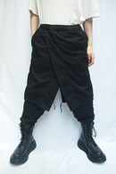 【予約】JULIUS 20PS CONTRAST LAYERED PANTS_jua1