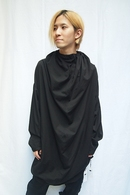【予約】JULIUS 20PS DRAPE NECK SHIRT_jua1