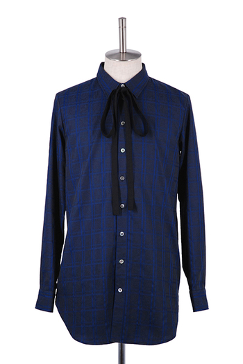MiDiom 19AW Check JQ Long Shirt_md95