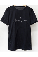 Heartbeat ROLL UP TEE