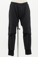 JULIUS(ユリウス) OPEN KNEE SWEAT PANTS_jua4