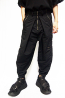JULIUS 20PF ADJUSTABLE ZIP PANTS_jua4