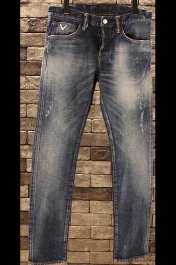【予約】DELAY 15WT Chorus denim PT(USED加工)