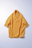 9200  loose shawl pullover YELLOW