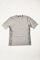 【20%OFF】AKM V -NECK T GREY COMBI