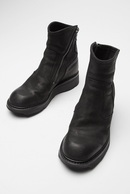 JULIUS 18PF SIDE ZIP ELEVATOR BOOTS_ju84